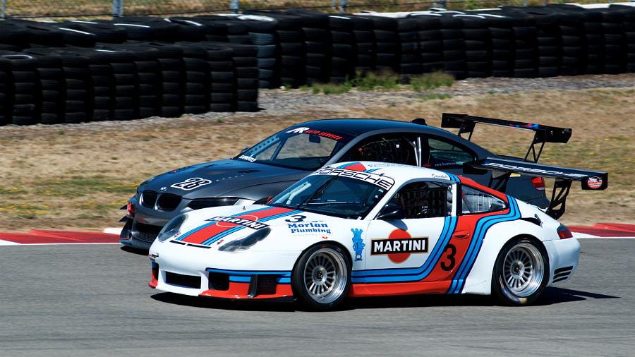 Rose Cup Races - BMW M3 and Porsche 911 Battle