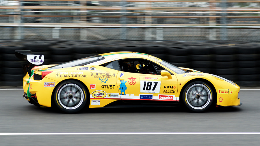 Rose Cup Races - Ferrari 458 Challenge Car