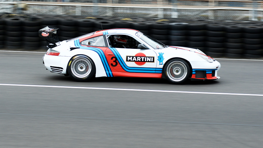 Rose Cup Races - Porsche 911 Martini