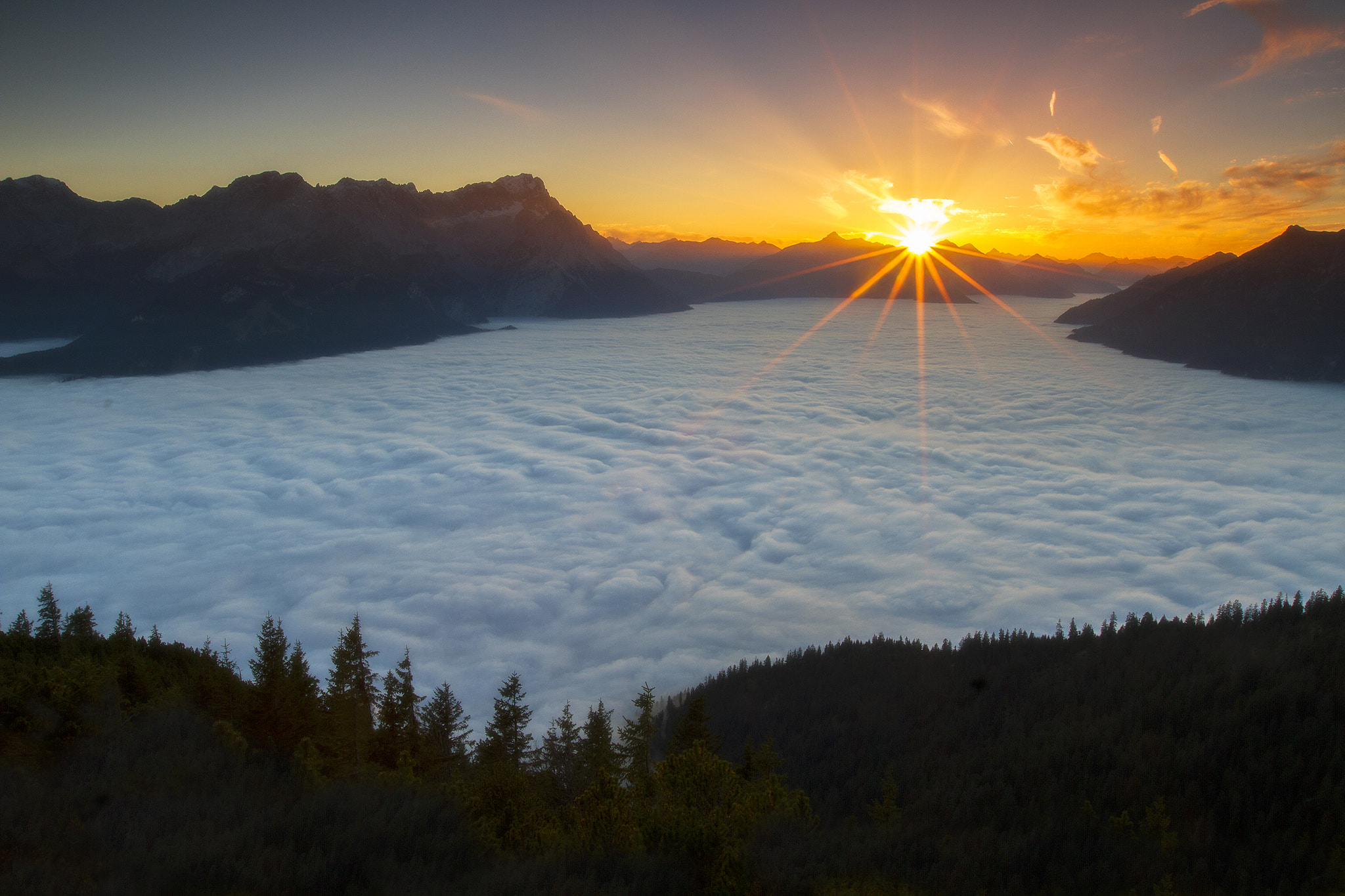 Photograph Sea of Clouds by Brad Hays on 500px