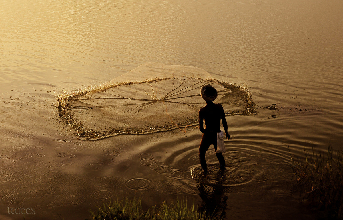 Photograph When nets meet the waters! by Sriram Guruswamy on 500px