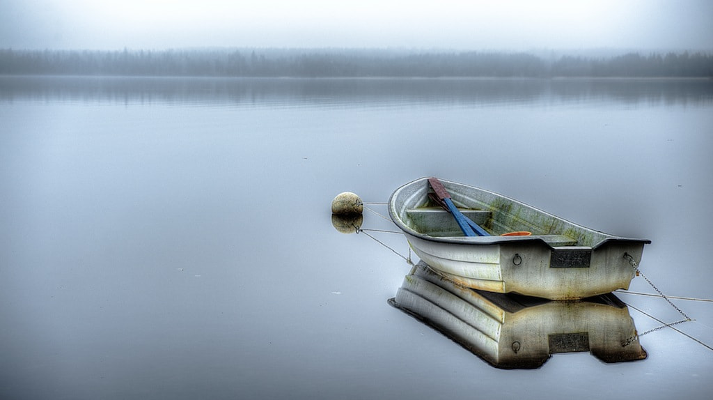 Photograph the lonely boat by Linus Englund on 500px