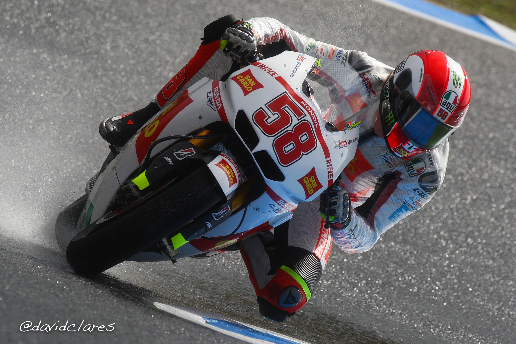 Photograph Marco Simoncelli REF. 0140 by David Clares on 500px