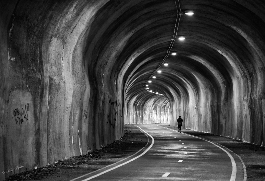 In the tunnel by Miloš Pjatko on 500px.com