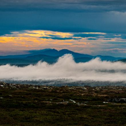 Elghåhågna, sweeping mist