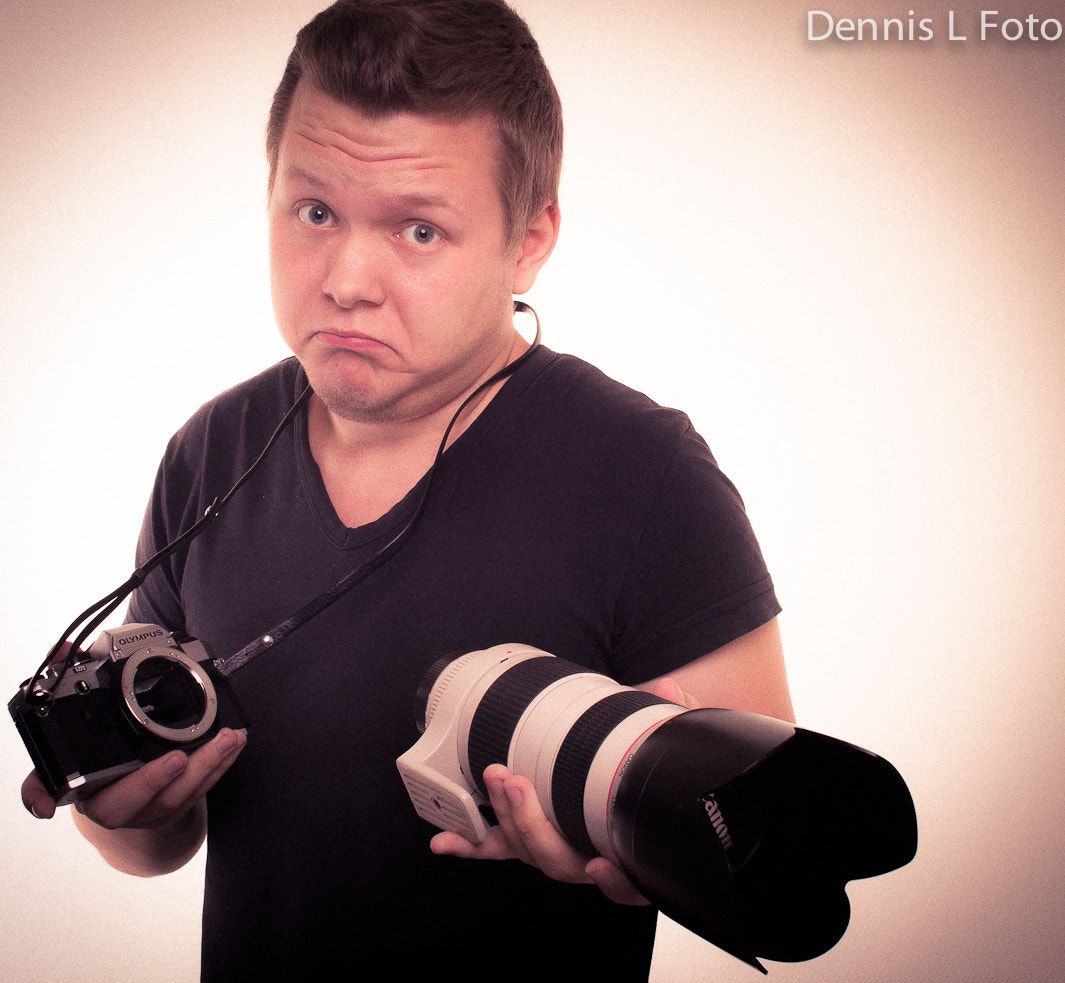 Photograph Another self portrait by Dennis Larsen on 500px