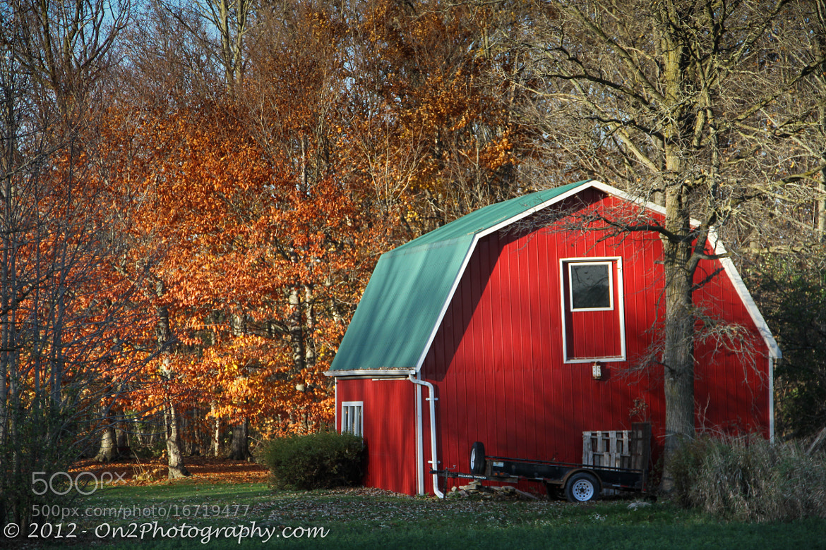 Photograph Red Barn by Nash Damji on 500px