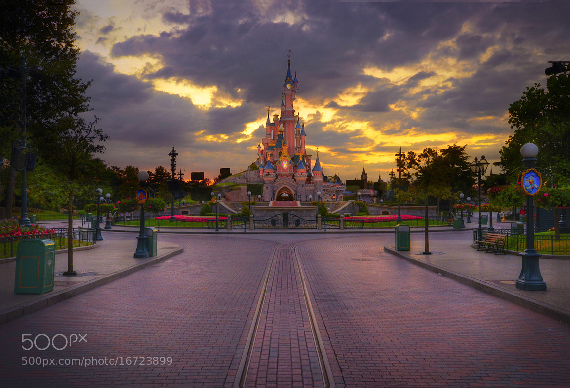 Photograph After Hours At Disneyland Paris by William McIntosh on 500px