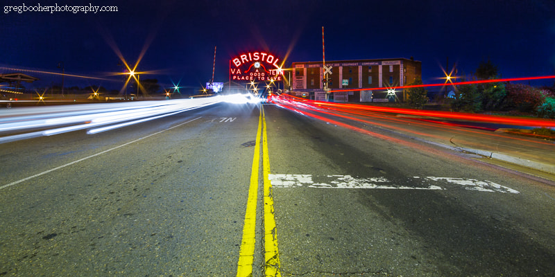 Photograph Bristol Sign in Pink 3 by Greg Booher on 500px