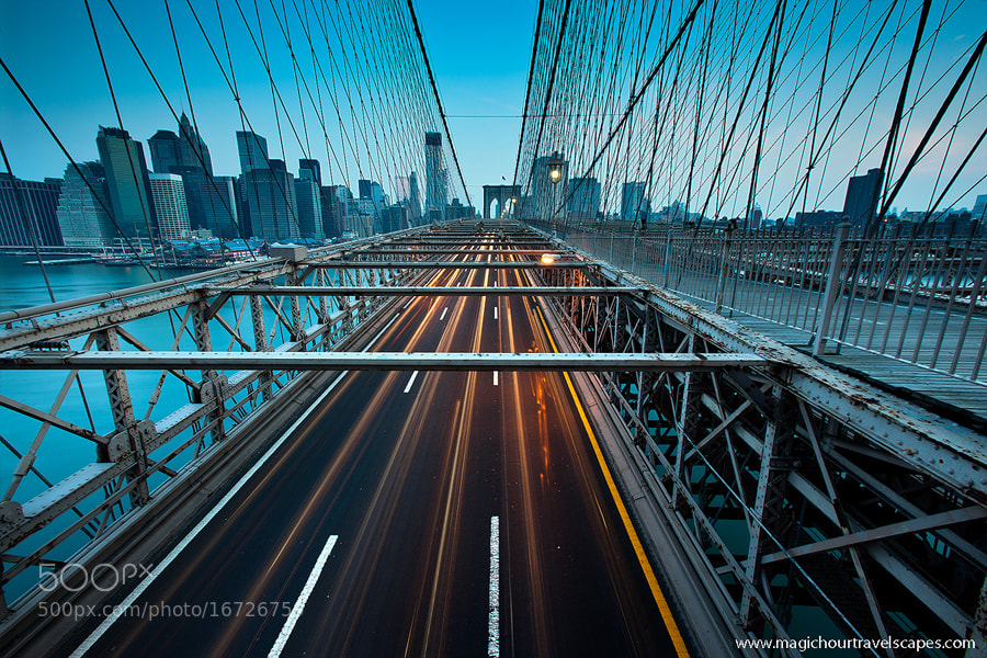 Photograph Brooklyn Blues by Kah Kit Yoong on 500px