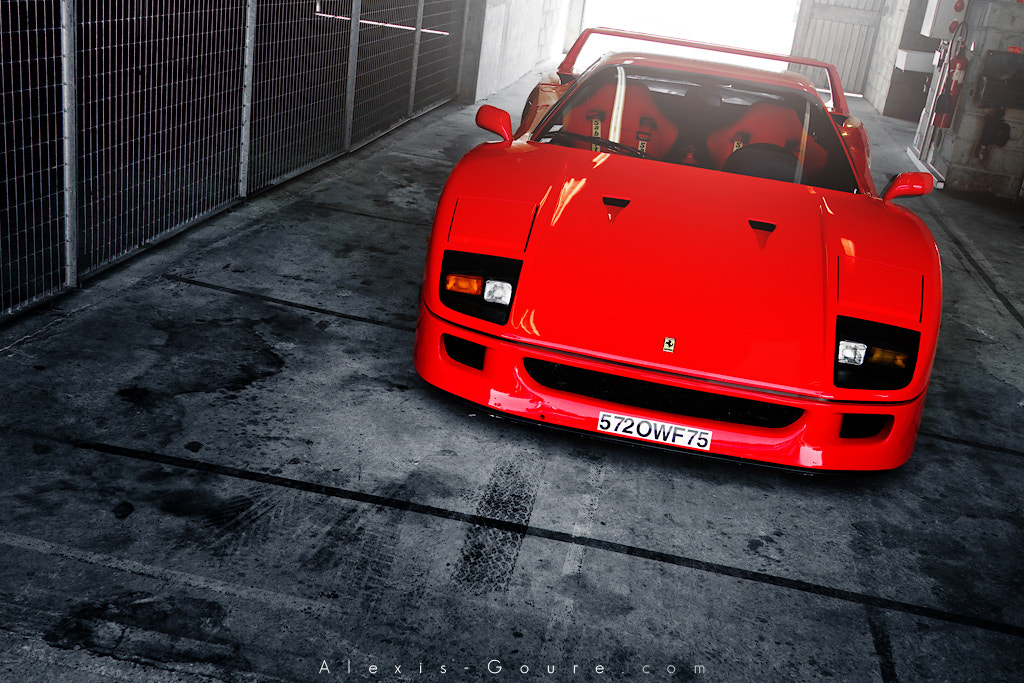 Photograph Ferrari F40 by Alexis Goure on 500px