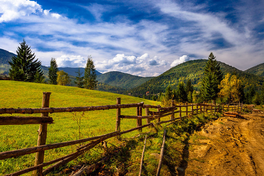 Photograph A fence line by Roman Dmytrenko on 500px