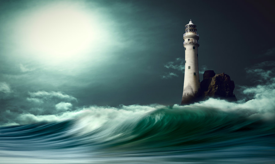 Lighthouse  by nikos Bantouvakis on 500px.com