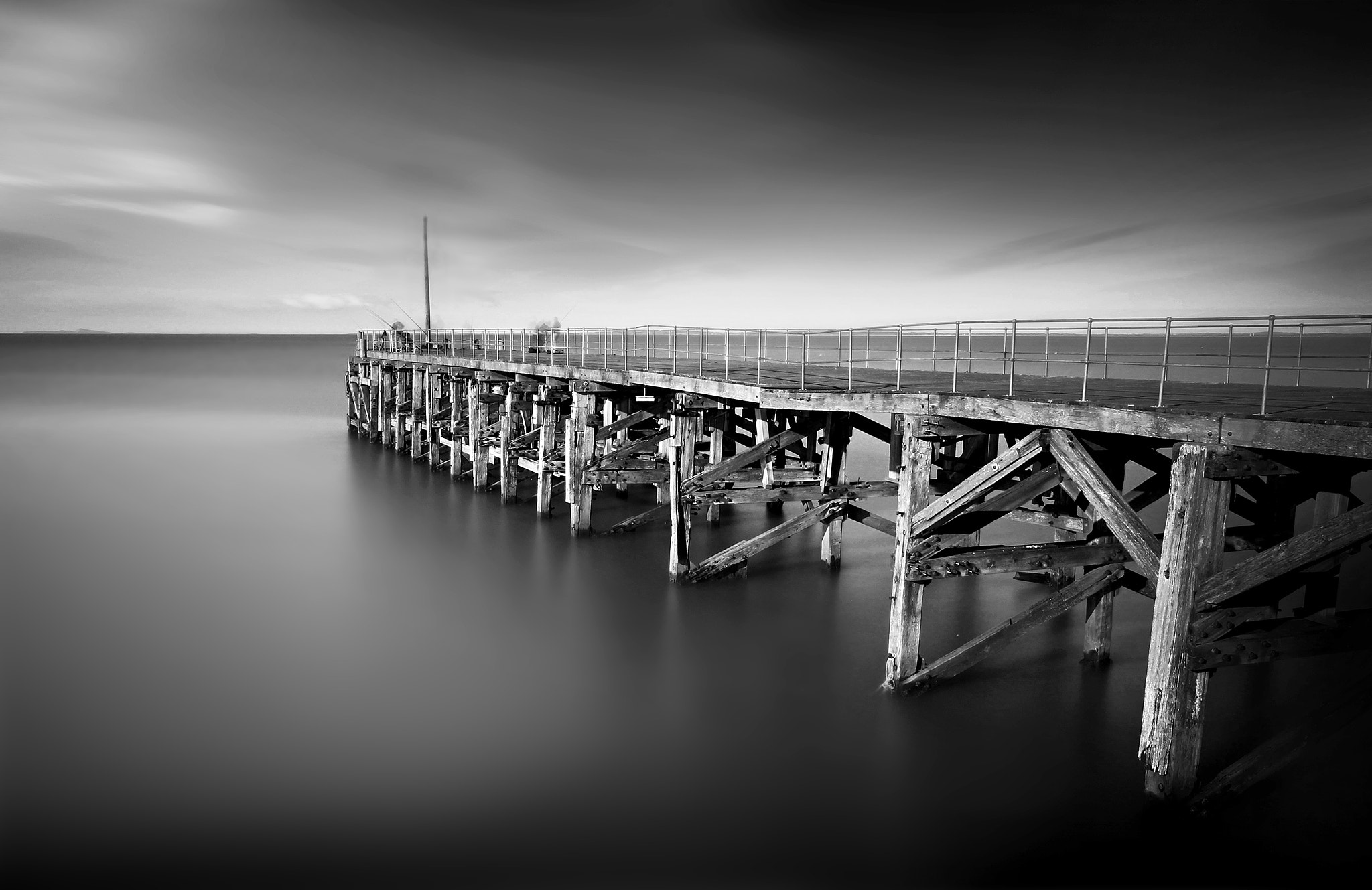 Photograph Rickety pier at Trefor by Charlie Pragnell on 500px