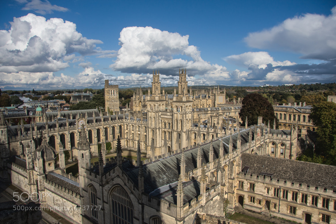 Photograph All Souls College by David Asch on 500px