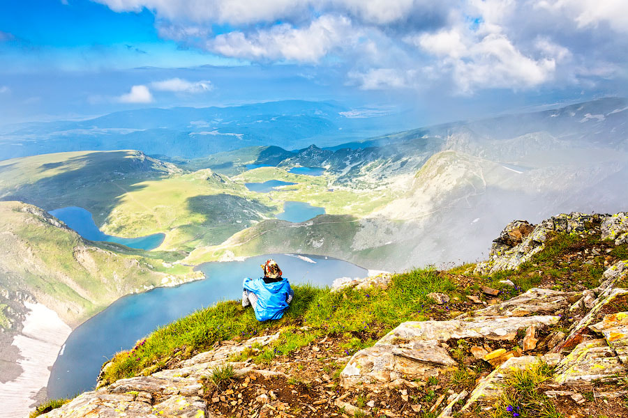 Photograph Above Seven Rila lakes by Evgeni Dinev on 500px
