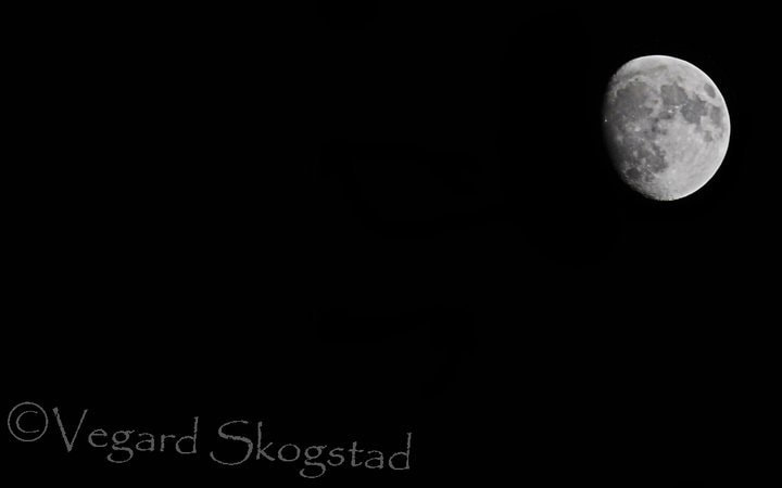 Photograph The Moon by Vegard Skogstad on 500px