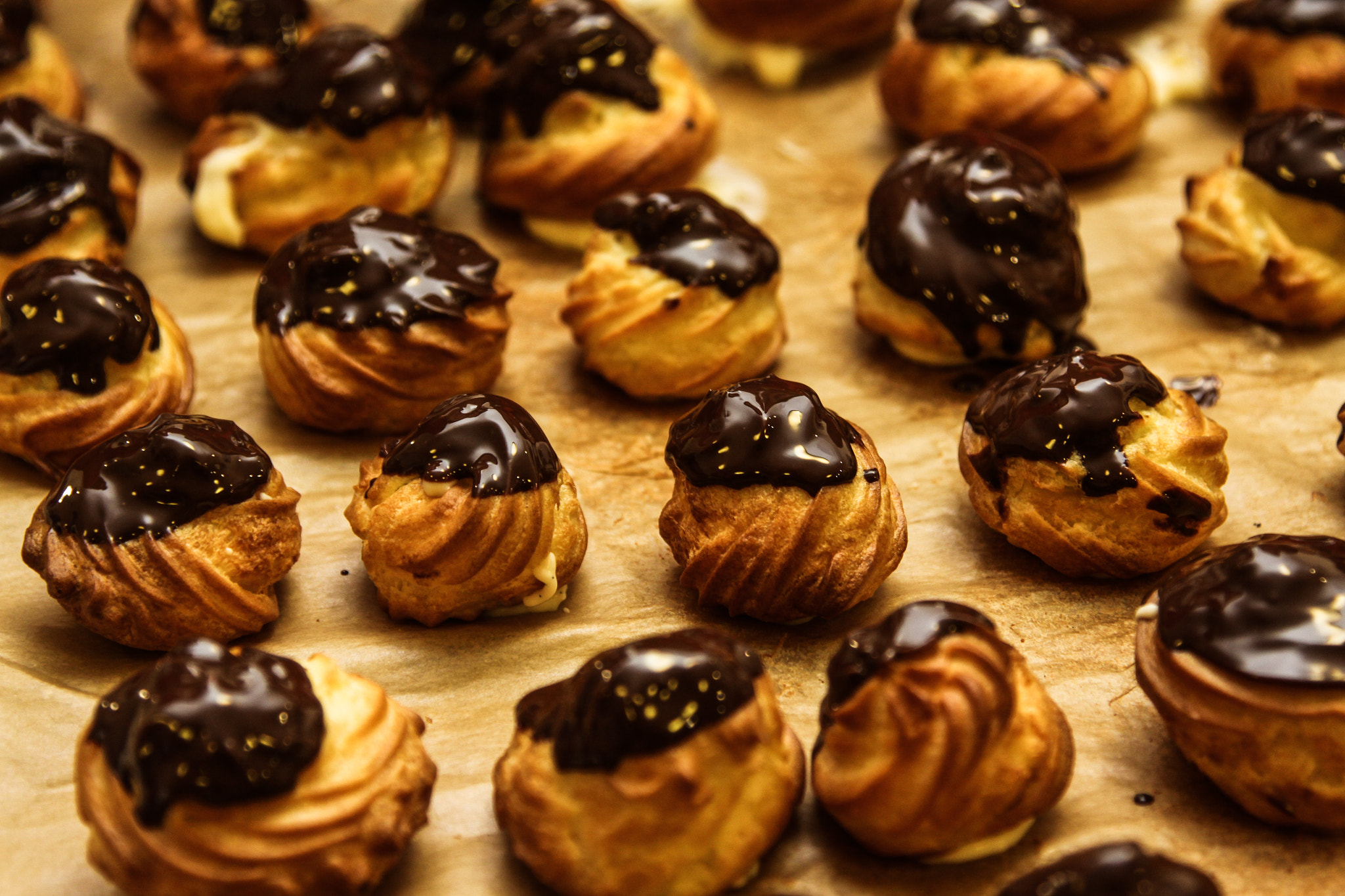 Photograph Pastries with patisserie cream by yuval shohat on 500px