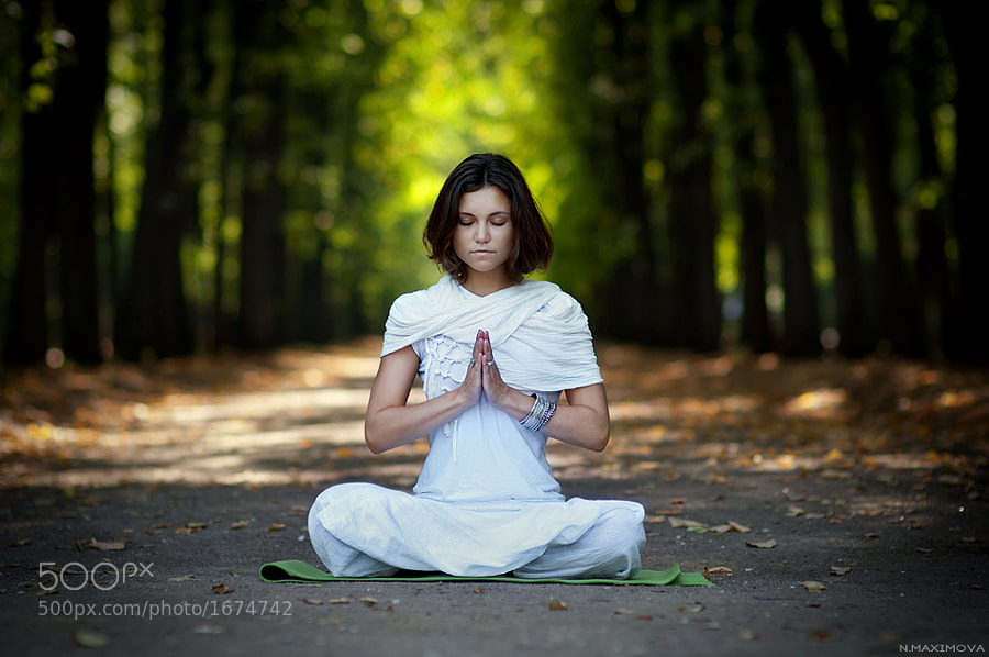 Photograph Yoga by Natalie Maximova on 500px