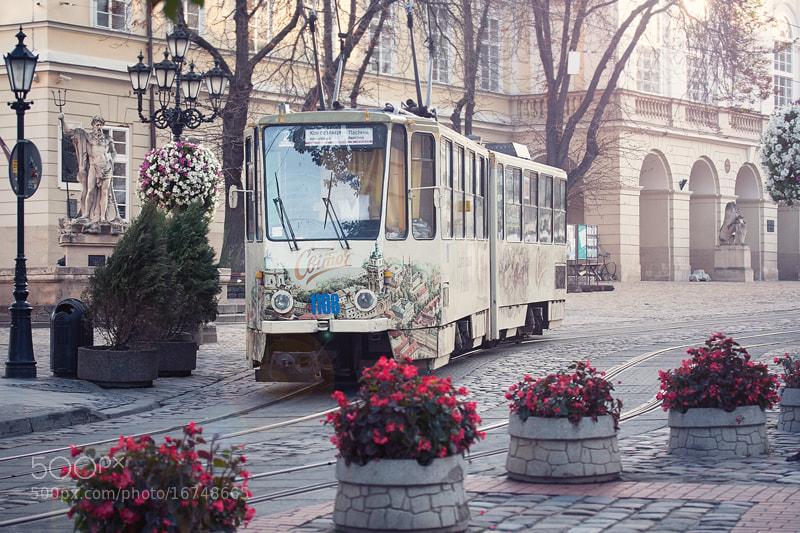 Photograph L'viv tram by Yulia Pletinka on 500px