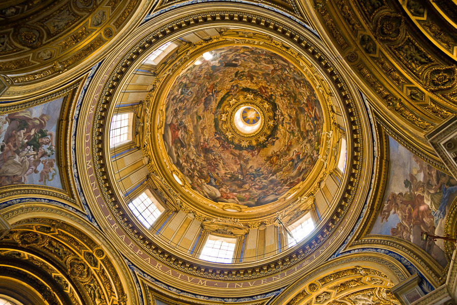 Photograph Dome of Sant'Agnese in Agone by Jose Agudo on 500px