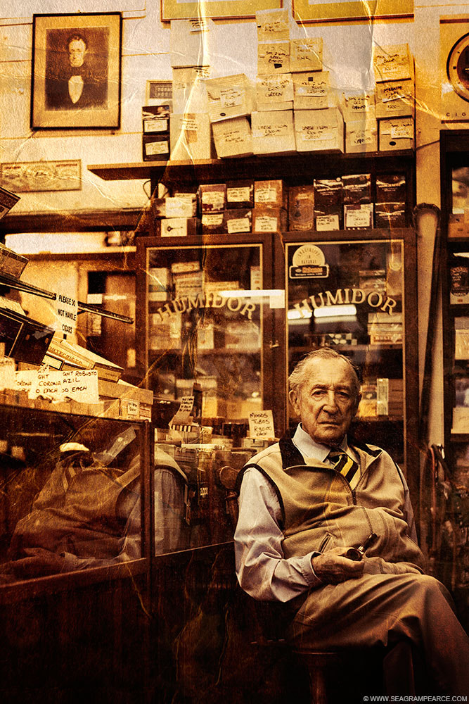 Photograph The Tobacconist by Seagram Pearce on 500px