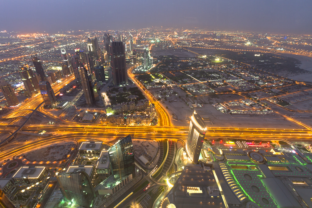 Photograph view from top of the world..world's tallest building by S A  I on 500px