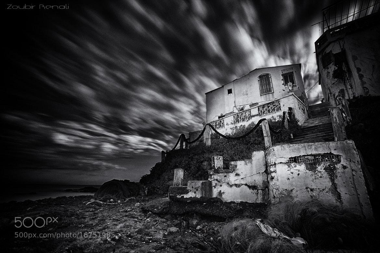 Photograph black rock view / B&W by Zoubir BENALI on 500px