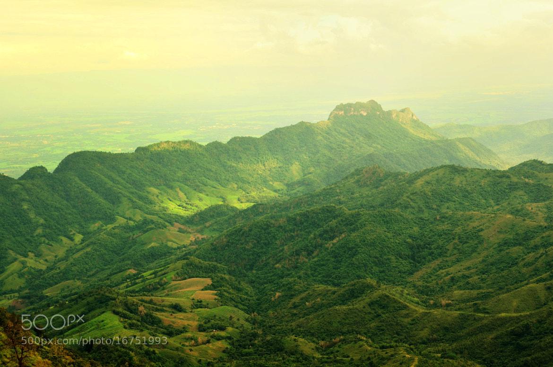 Photograph Green View at Phu Tab Berk in Thailand by Sirinun Kaewchampa on 500px