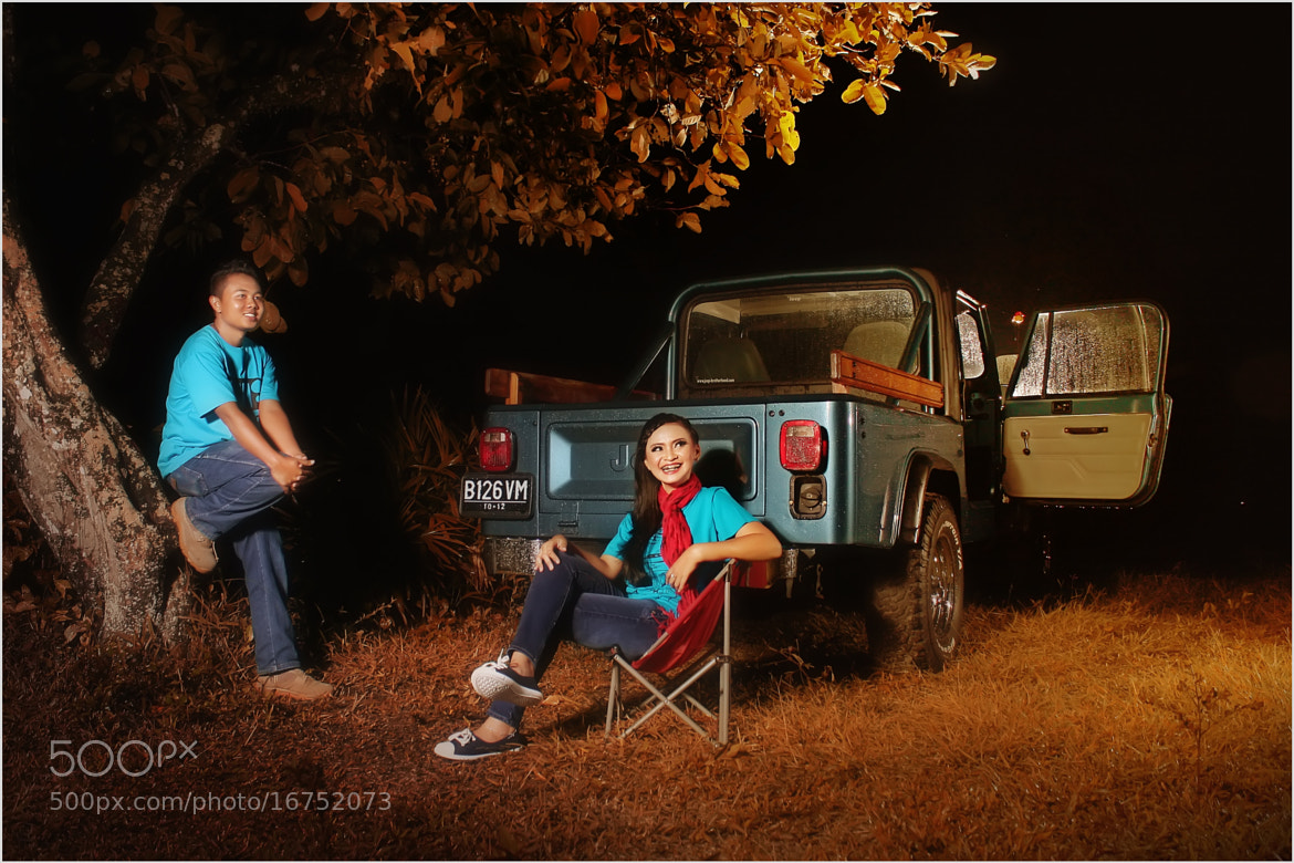 Photograph Agnes dan Tian by Ade Syamsudin on 500px