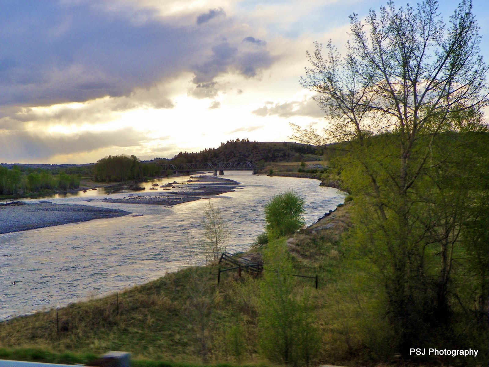 Photograph Yellowstone River in Montana by Pam Jones on 500px