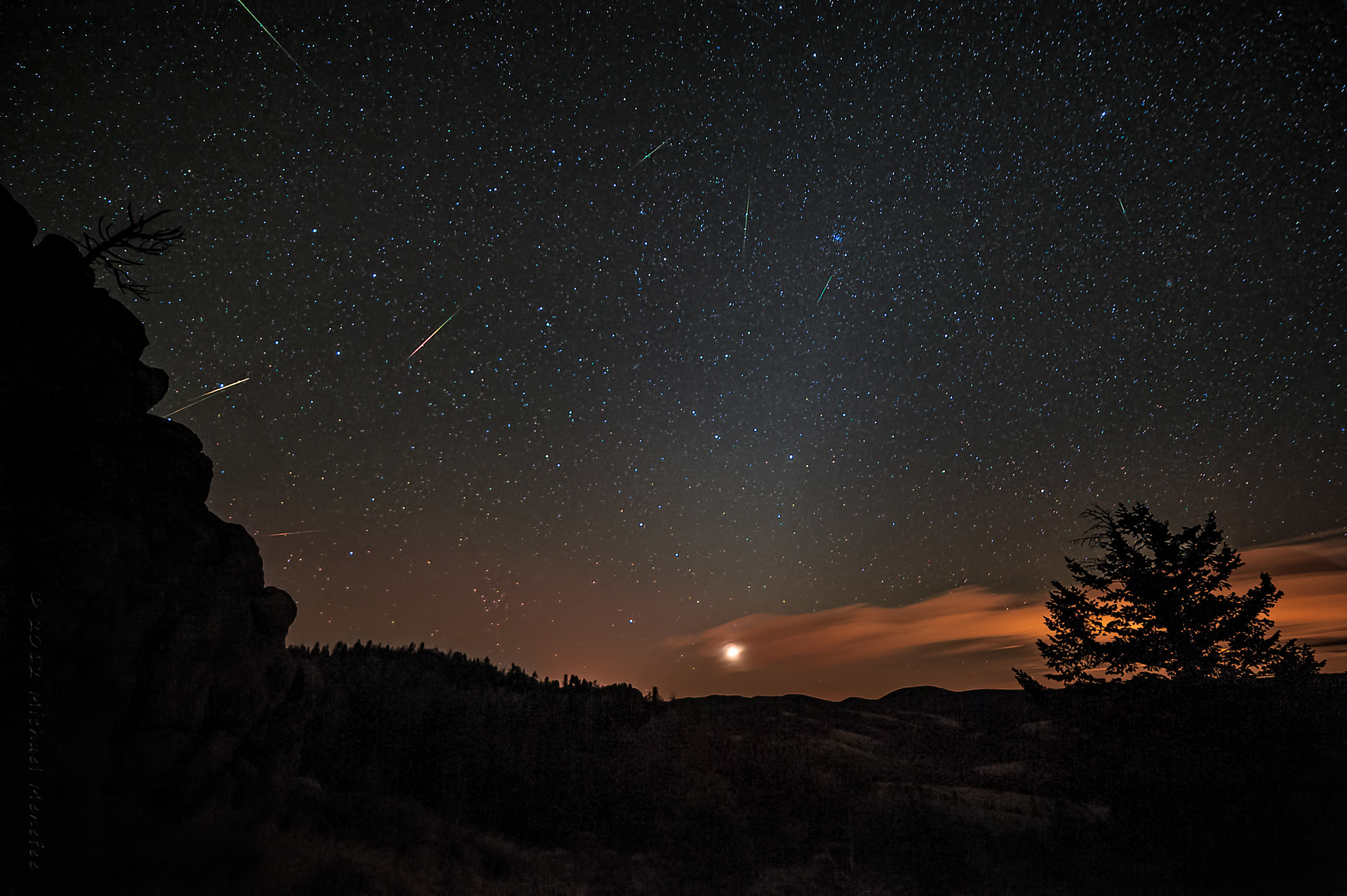 Photograph 2012's Orionid Meteor Shower Meets Zodiacal Light by Michael Menefee on 500px