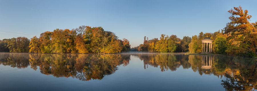 Photograph Autumn mirror lake by Robert Sertic on 500px