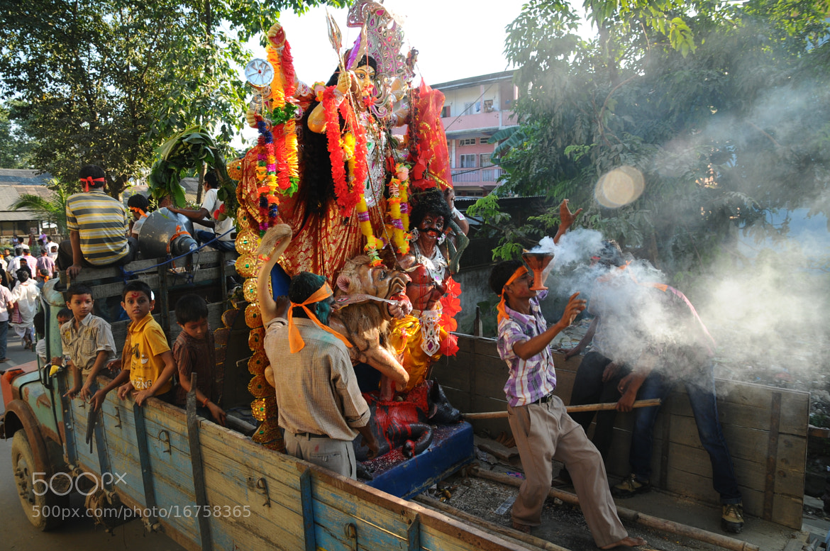 Photograph Departure of Ma Durga  by mayur gogoi on 500px