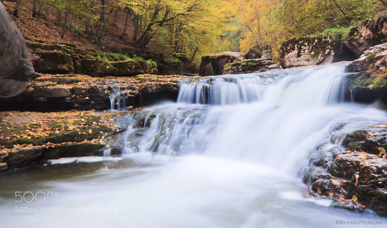 Photograph Mysterious Waterfall by Edo  Harutyunyan on 500px