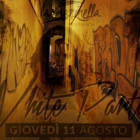 Carruggio Pop (double exposure) Finale Ligure - Italy 2016