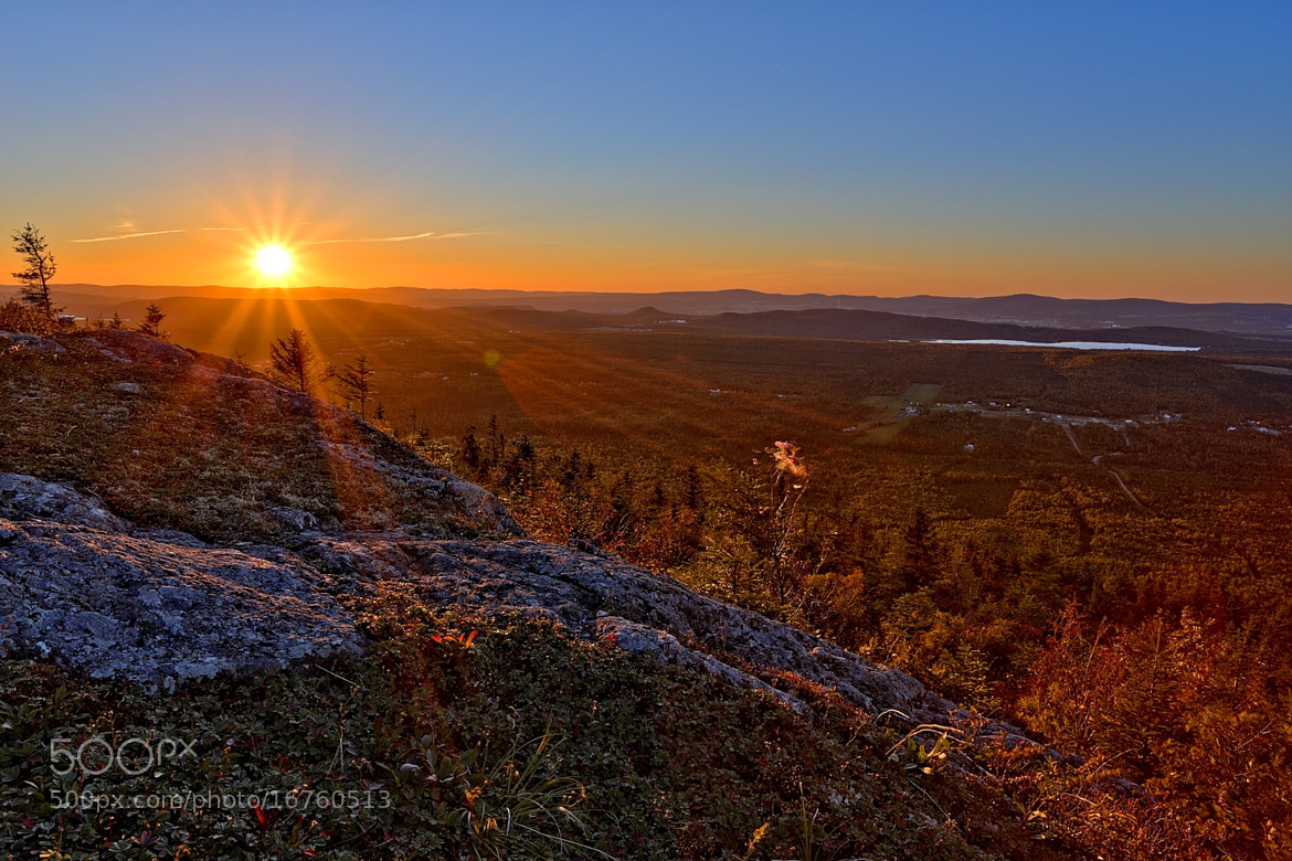 Photograph Sunset from mont Adstock 1 by Jean François Pidgeon on 500px