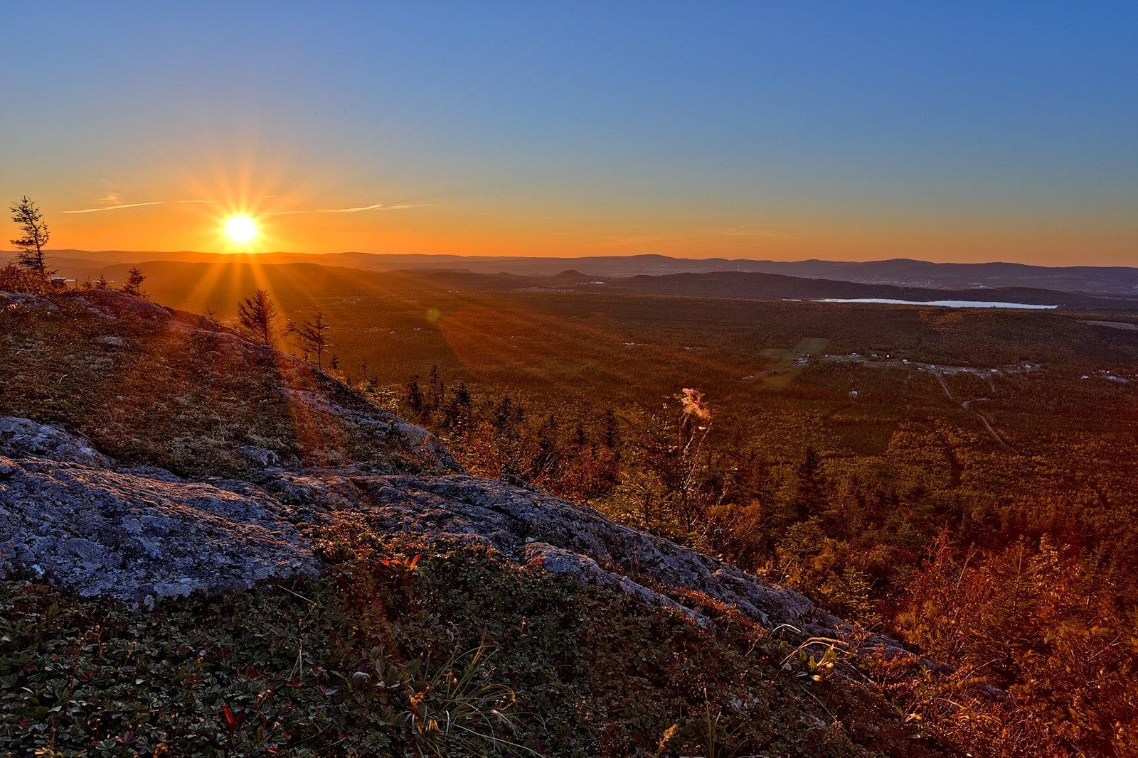 Photograph Sunset from mont Adstock 1 by Jean-François Pidgeon on 500px
