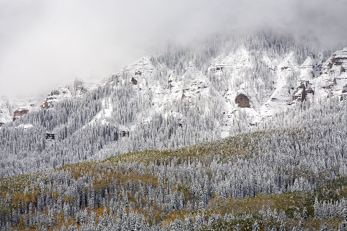 Photograph Snowstorm on Owl Creek Pass by Rich Voninski on 500px