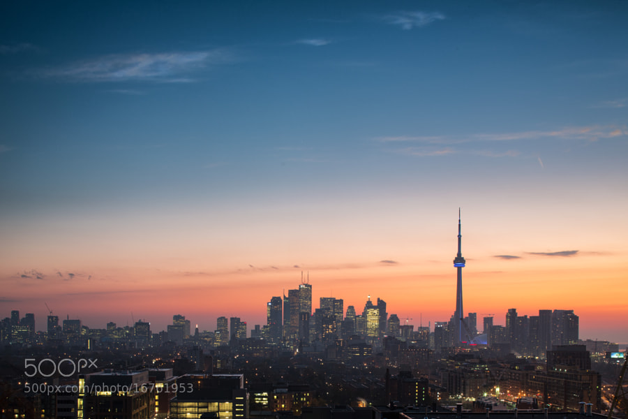 Toronto Autumn Sunrise by Richard Gottardo (RichardGottardo) on 500px.com