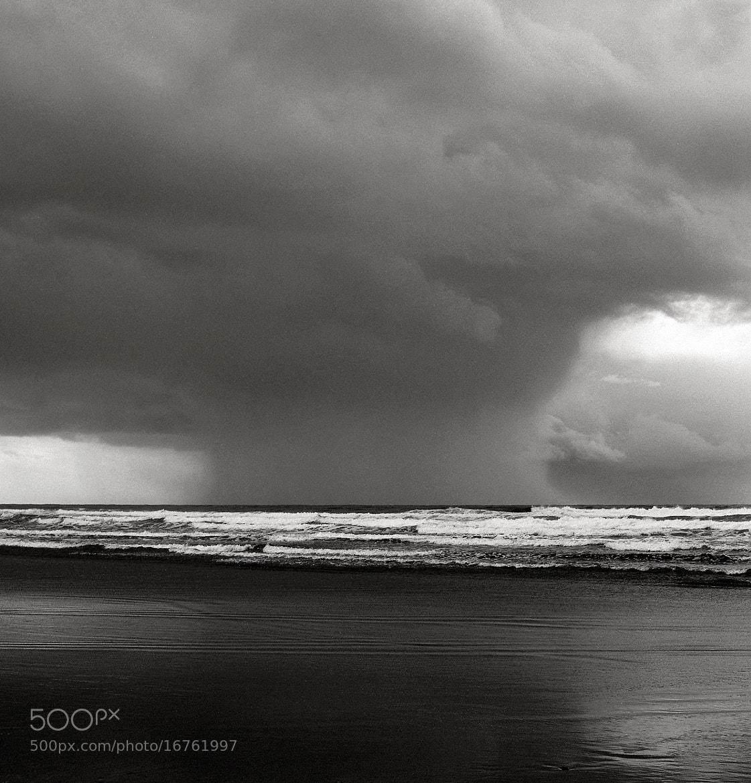 Photograph Rain, Oregon Coast by Austin Granger on 500px