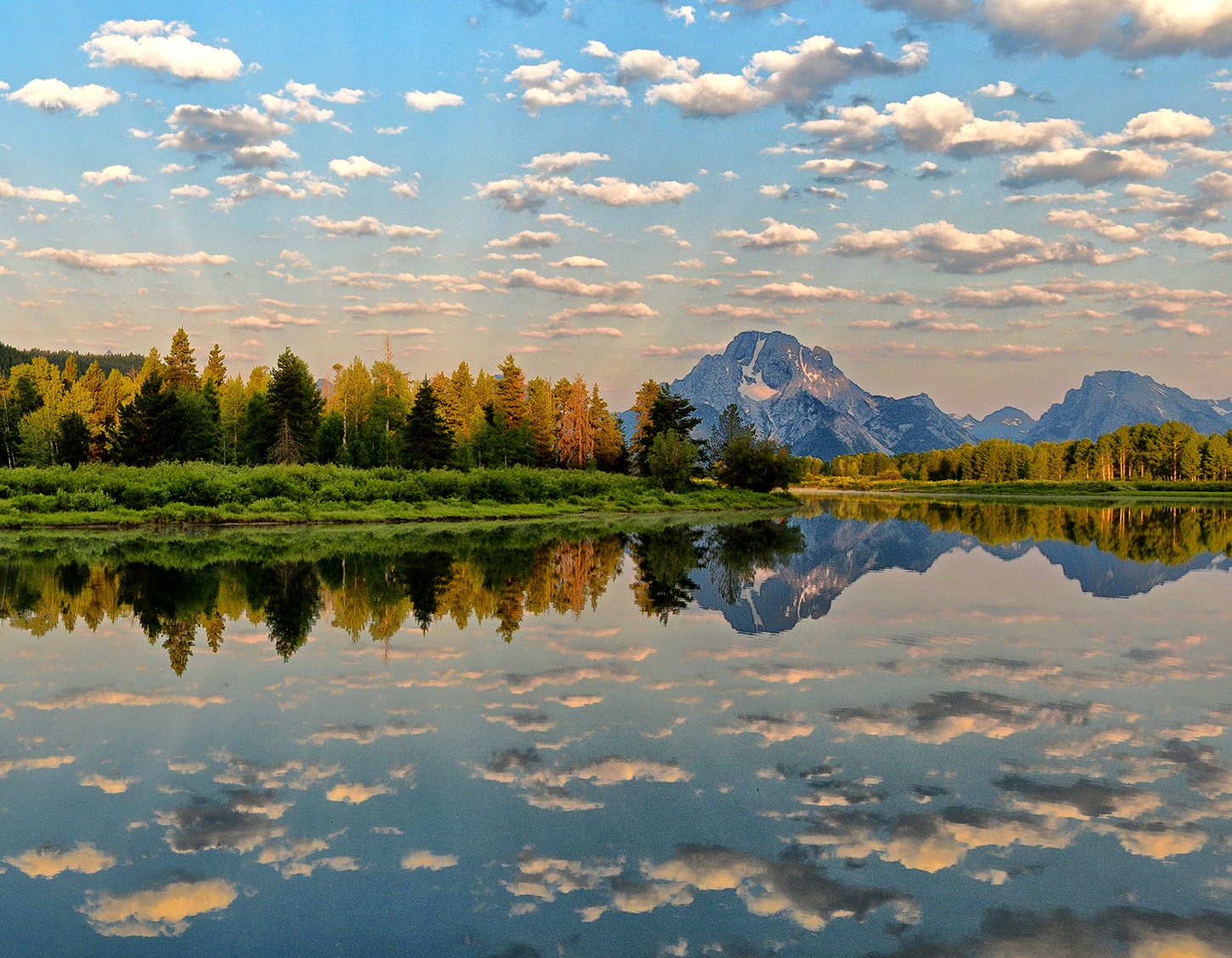 Photograph Morning Clouds at Oxbow by Jeff Clow on 500px