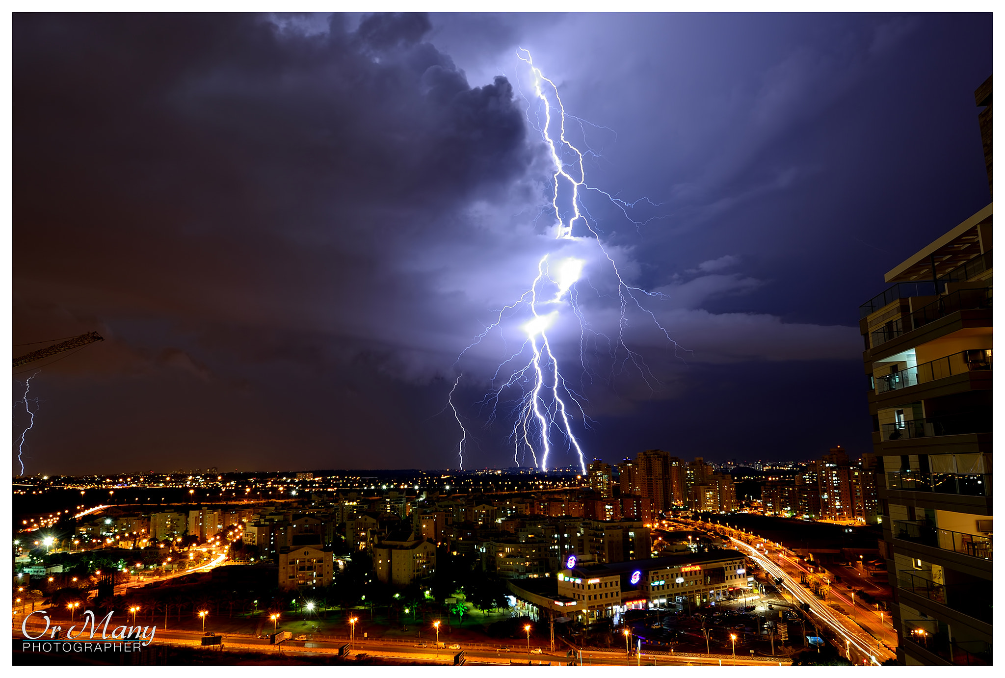 Photograph Ride the lightning by Or Many on 500px