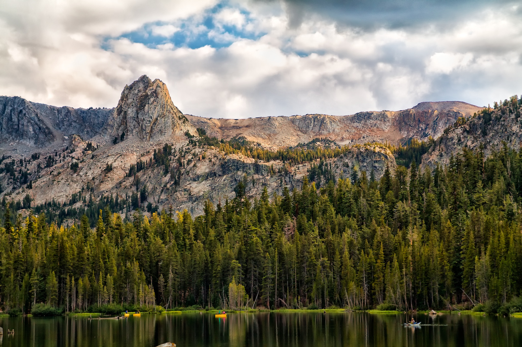 Photograph Fishing Under the Peak by Todd Olthoff on 500px