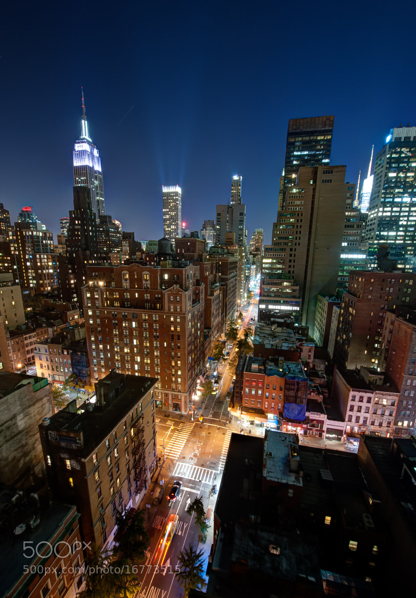 Photograph Midtown Manhattan by Night by Dave Wilson on 500px