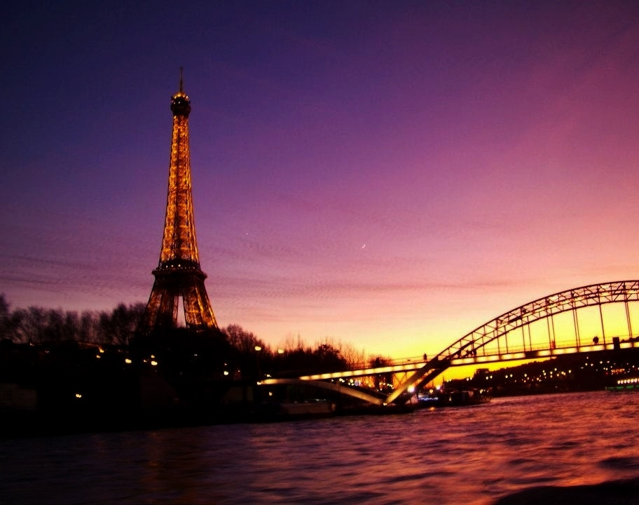 Photograph Eiffel Tower at Sunset by Risa Jenner on 500px