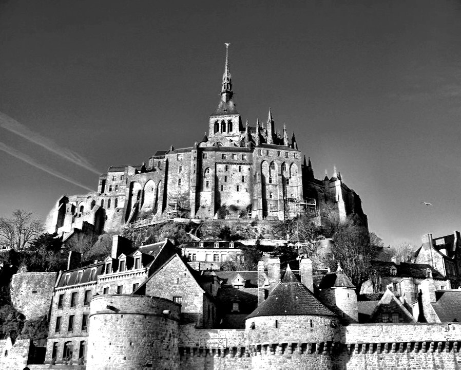 Photograph Mont Saint Michel, France by Risa Jenner on 500px
