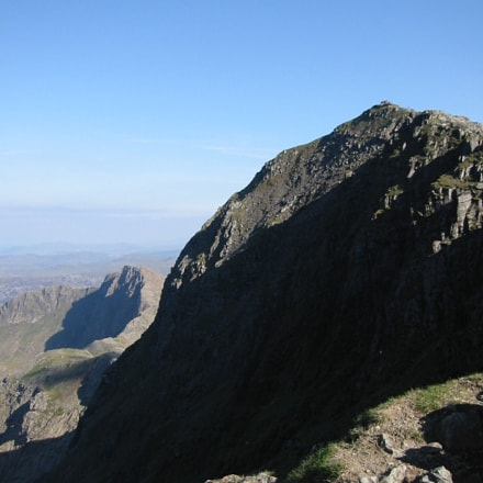 Snowdon Summit, North Wales, Canon DIGITAL IXUS V