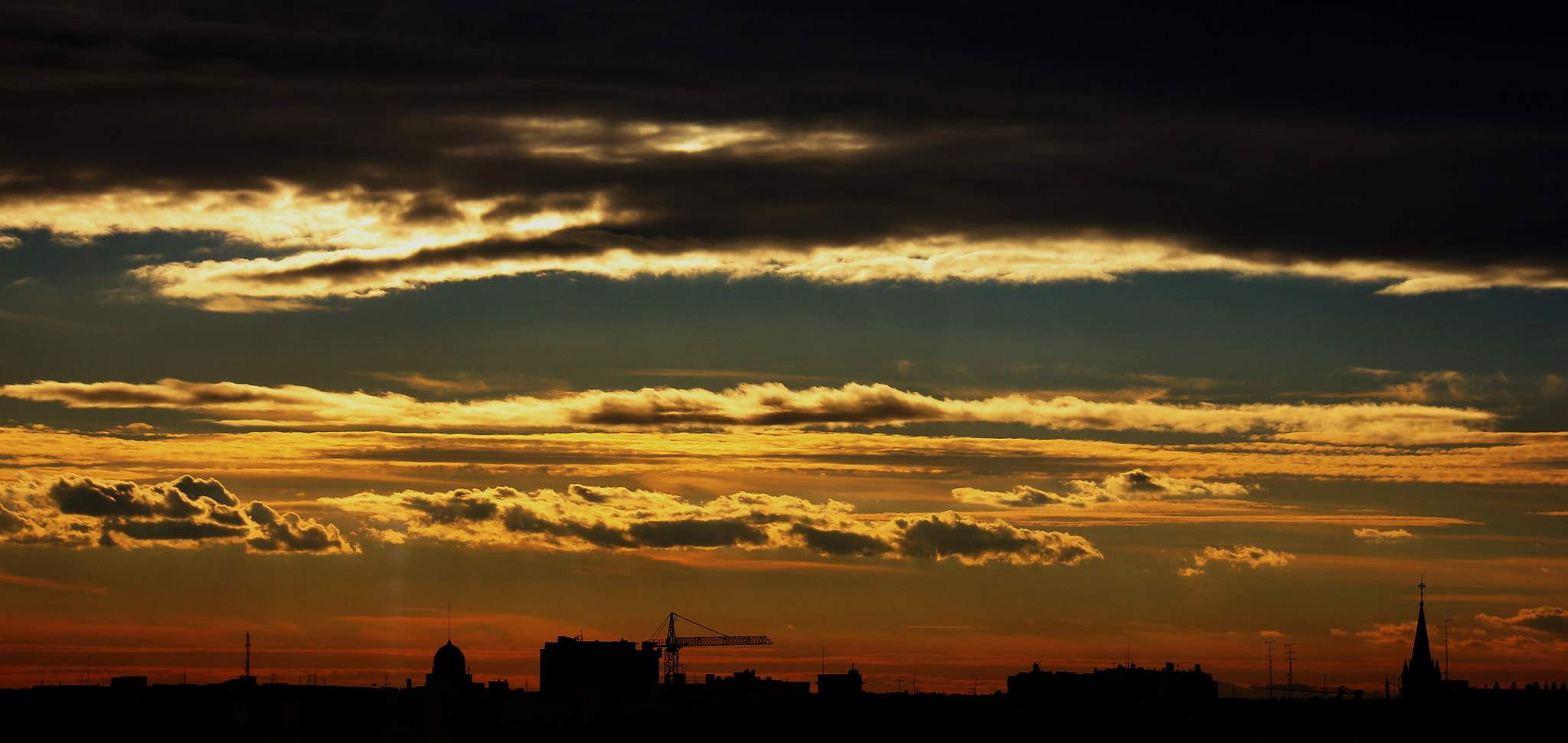 Photograph Atardecer Madrileño by Hugo Varieras Adegbola on 500px