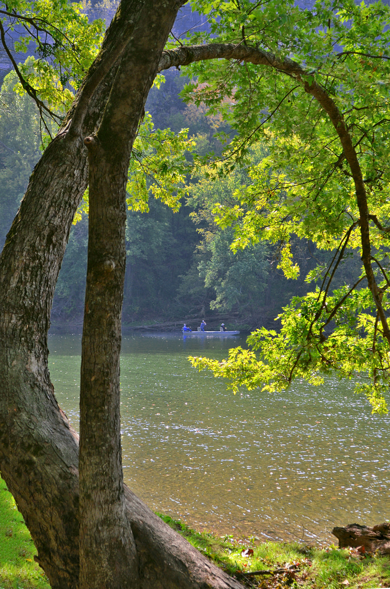 Photograph Fishermen on the White River in Buffalo City, Arkansas by Jeff Rose on 500px